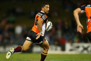 Benji Marshall can hardly be rated in vintage form. Photo / Getty Images