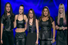 The all-girl group Gap 5 are among a bunch of thinly gifted contestants. Photo / TV3