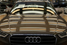 Sales of Audis leaped ahead in New Zealand in the six months to the end of June. Photo / AP