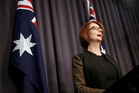 Julia Gillard got rolled because the Labor Party is heading for a drubbing at the election. Photo / AP