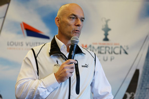 America's Cup Event Authority CEO Stephen Barclay. Photo / AP