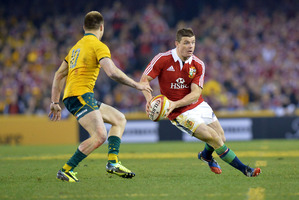 Lions centre Brian O'Driscoll has been dumped from the British and Irish Lions team in a sensational move by coach Warren Gatland. Photo / Getty Images.