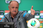 Luiz Felipe Scolari. Photo / AP