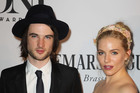 Hot couple Tom Sturridge and Sienna Miller.Photo / AP