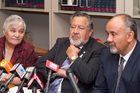 Tariana Turia and Pita Sharples remain highly respected despite the poor response to the efforts of the Maori Party, which is now likely to be co-led by Te Ururoa Flavell. Photo / Mark Mitchell