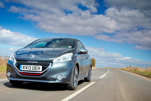 The 208 GTi puts performance into Peugeot.
