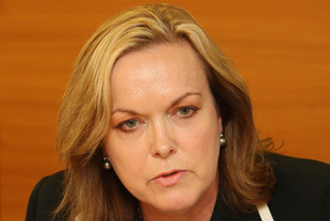 Justice Minister Judith Collins told Parliament this was outdated and could no longer be justified. Photo / Mark Mitchell