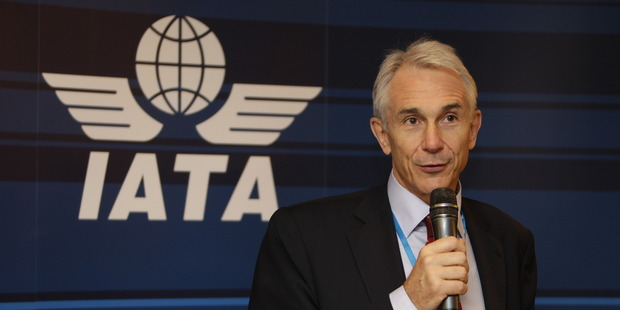 Tony Tyler, head of the world's airline organistion IATA, says that NZ air passengers are suffering due to costs imposed by our airports and air traffic control operator Airways.