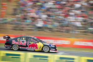 Defending V8 Supercars champion Jamie Whincup has a relatively comfortable lead of 159 points over teammate Craig Lowndes. Photo / Greg Bowker