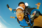 Take flight in so many different ways: tandem skydiving; light aircraft; on the rope course.