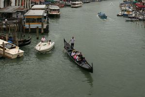 Gondoliers are becoming known for their drunken antics. Photo / Jim Eagles