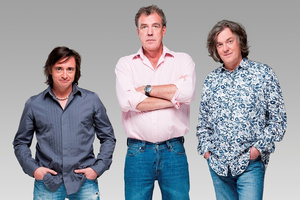 "Jeremy Clarkson (centre) admits the show ""wasn't our strongest""."