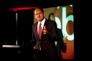 David Shearer says he supports increasing the number of women in the Labour caucus. Photo / Dean Purcell