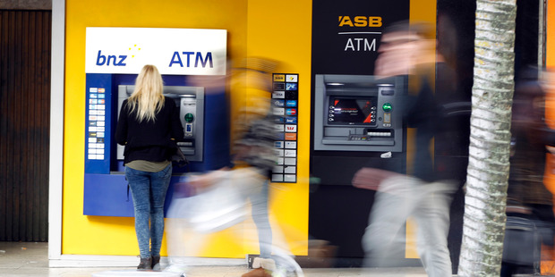 Some Visa customers may have been charged a foreign currency service fee of 2.25 per cent on their transactions. Photo / Michael Craig