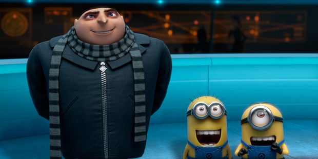 Loading 'Despicable Me 2'.
