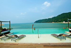Club Med in Malaysia.  Air links to the country are being stepped up.