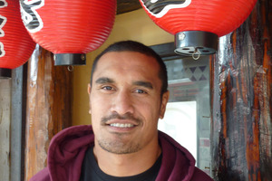 Jerome Kaino found learning Japanese a challenge. Photo / Michael Burgess