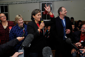 Meka Whaitiri, capturing just 42 per cent of the vote compared with the late Parekura Horomia's 61 per cent in 2011. Photo / Warren Buckland