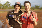 Andy Lee and Hamish Blake.