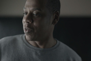 Jay-Z chokes up talking about his daughter in a promotional video for his new album Magna Carta Holy Grail.