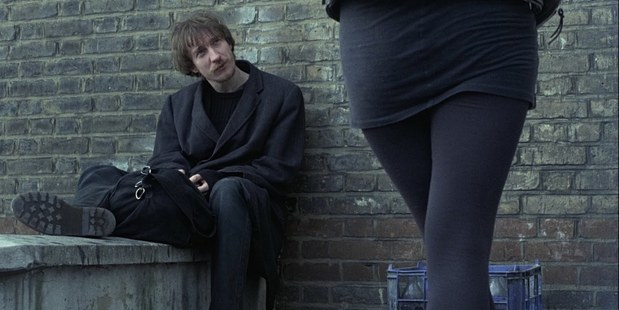 A scene from Mike Leigh's film Naked. Photo / Supplied