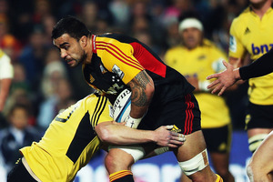 Liam Messam was the top tackler for the Chiefs with 16. Photo / Getty Images