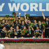 The New Zealand women's rugby sevens team celebrate winning the World Cup.  Photo / Martin Seras Lima IRB.com