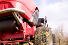 The caretaker's red ride-on lawnmower was stolen from Makoura College. Photo / Thinkstock