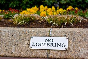 Loiterers are taking over the Hamilton Garden Place. Photo / Thinkstock