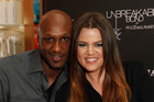 Lamar Odom and TV personality Khloe Kardashian. Photo / Getty Images