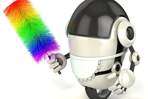 An example of a robot maid. Photo / Thinkstock