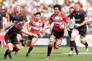 Last month Japan beat Wales 23-8. Photo / Getty Images
