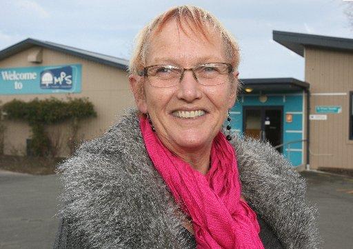 Sue Walters, principla of Masterton Primary School.