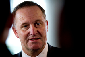 John Key knew the Human Rights Commission's report on new security legislation was coming, but called it tardy and poorly put together. Photo / Dean Purcell