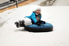 Snow tubing at Snowplanet is loads of fun for people of all ages. Photo / Doug Sherring