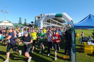 Runners and walkers of all ages can get off the couch and into the fitness race during the Unitec Run Walk series.