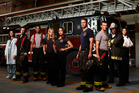 The Chicago Fire crew who share their professional and private lives in the action series screening on TV3.