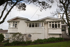 The large Maungakiekie Ave property sits on land owned by the Cornwall Park Trust Board. Photo / Greg Bowker