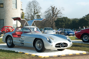 Stirling Moss will drive a W196 Mercedes-Benz 300 SLR at this year's Festival. Photo / Newspress UK