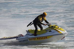 A Yamaha VX700 jet ski, worth $20,000, was taken from the Northern Region Surf Life Saving Club in Mechanics Bay.