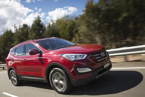 Hyundai Santa Fe. Photo / David Linklater