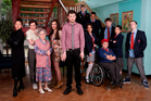 Jack Whitehall, centre, as a teacher in BBC comedy <i>Bad Education</i>, says his parents still want him to get a