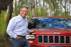 Chief engineer for the Grand Cherokee programme, John C Mrozowski, says the new 4x2 Jeep meets a market need. Photo / David Linklater