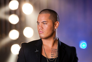 Stan Walker performing on the show.