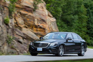 The new S-Class will reach New Zealand towards the end of this year. Photo / Supplied
