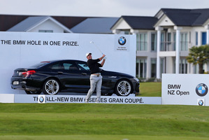 BMW has become the official sponsor of the New Zealand Golf Open.Pictures / Simon Watts