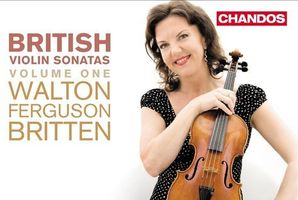 CD cover: British Violin Sonatas