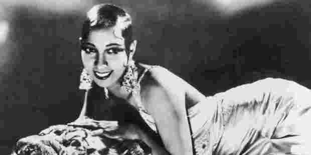 American jazz singer Josephine Baker.