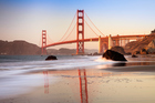 A visit to San Francisco wouldn't be complete without a trip over the Golden Gate Bridge. Photo / Getty Images
