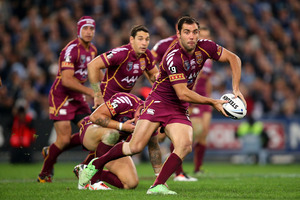 Cameron Smith of the Maroons. Photo / Getty Images